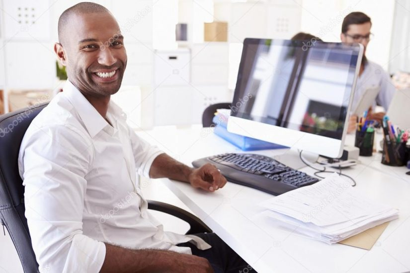 depositphotos_64584245 stock photo businessman at computer